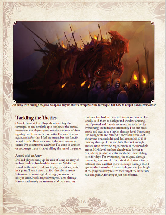 Book of the Tarrasque Page 16