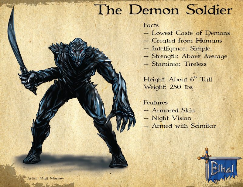 Demon Soldier Summary