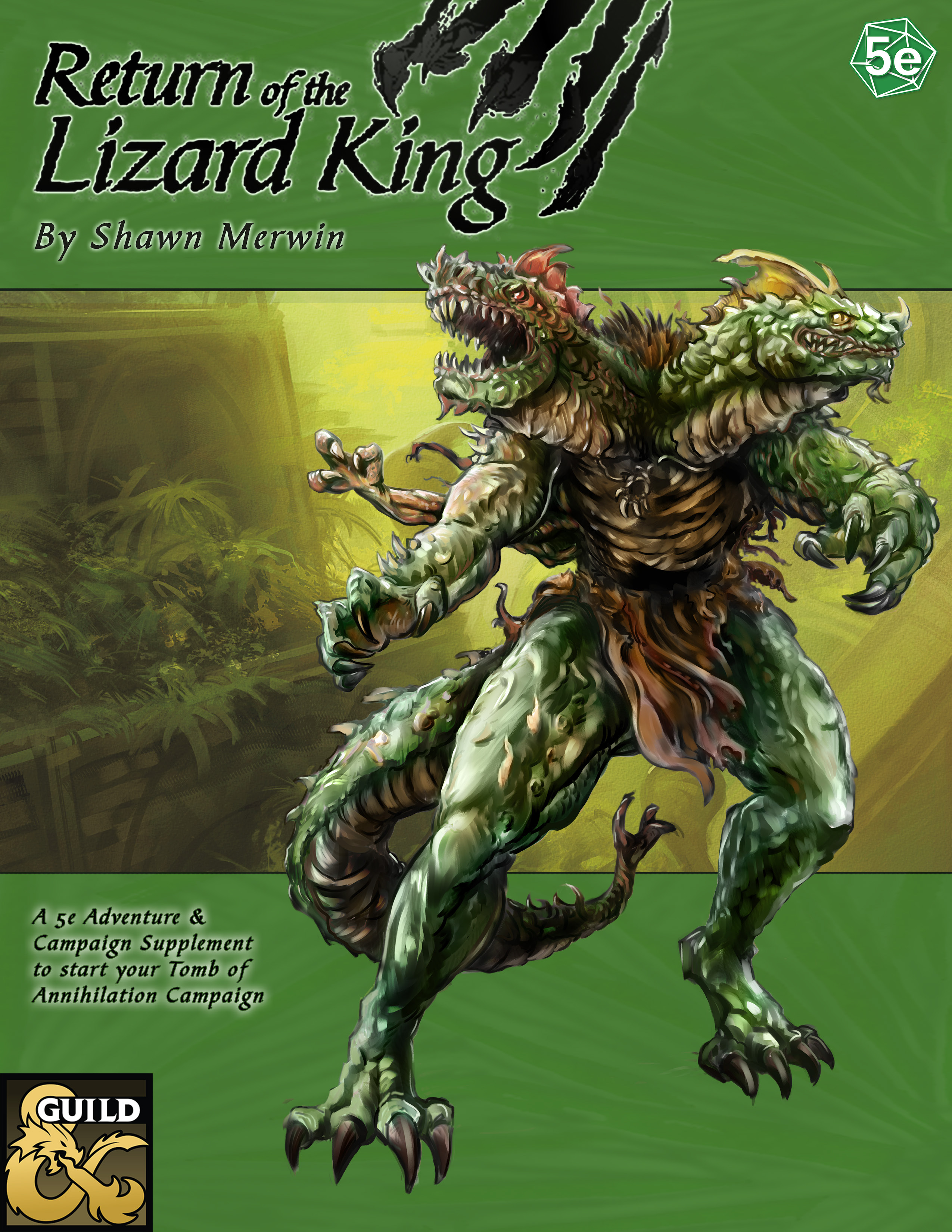 Encoded Designs | The Return of the Lizard King